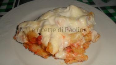 sformato di rigatoni di Anna Moroni La prova del cuoco le ricette di Paolina
