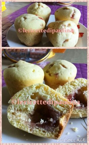 Muffin con sorpresa di marmellata Ricette Expo ©lericettedipaolina